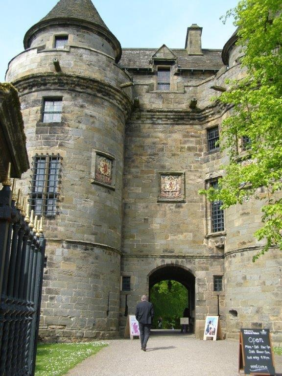Falkland Palace in Edinburgh
